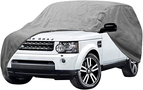popular OxGord Auto Cover - 1 Layer Dust Cover - Lowest Price - Ready-Fit Semi Glove Fit online fro SUV, Van, new arrival and Truck - Fits up to 206 Inches outlet online sale
