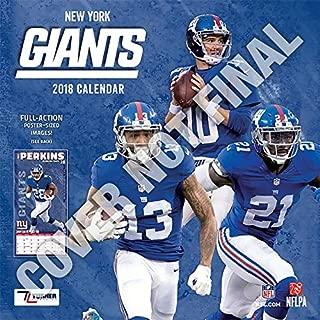 New York Giants 2019 Calendar