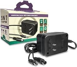 Adaptateur chargeur secteur 3 en 1 pour alimentation console Super Nintendo (SNES) et SEGA Megadrive