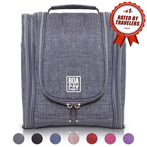 BOACAY Premium Hanging Travel Toiletry Bag