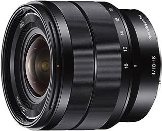 ソニー SONY 広角ズームレンズ E 10-18mm F4 OSS ソニー Eマウント用 APS-C専用 SEL1018