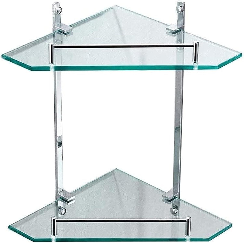 Shower Shelves Max 51% OFF Glass Shelf Bathroom Copper Full Indefinitely Moun Wall