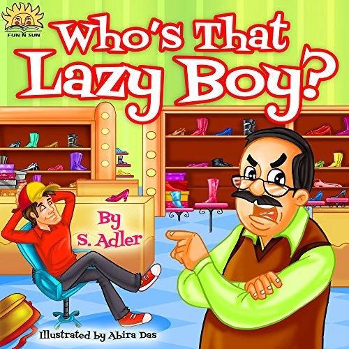 """Children's book: """"WHO'S THAT LAZY BOY?"""": Bedtime story, values, beginner readers, Funny story (Rhymes) Early learning, read along,Level 1, picture book, ... kids eBook (""""UNCLE JAKE"""