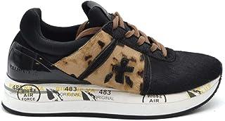 PREMIATA Women's MCBI38160 Multicolor Suede Sneakers