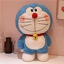 jyq Doraemon Plush Doll Doraemon Plush Doll, Blue Fat Doraemon Doll Pillow 60Cm Blue