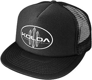 Koloa Surf Classic Surfboards High Profile Poly-Foam Trucker Hat-BlackBlack/w