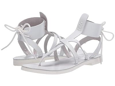 Free People Vacation Day Wrap Sandal (White) Women