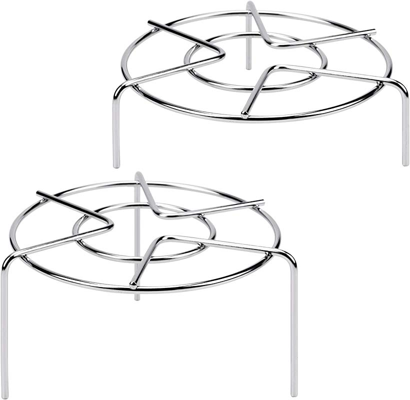 3 15 16 1 3 4 Tall Trivet Rack Stand Heavy Duty Stainless Steel Multifunction Basket Pressure Cooker Steam Rack
