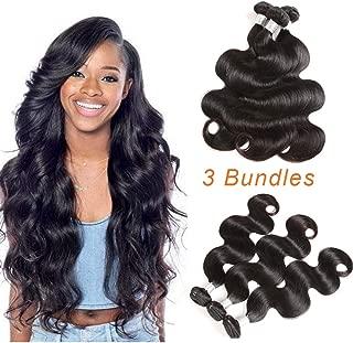 Youth Hair Peruvian Virgin Hair Body Wave 3 Bundles Deals 9A Unprocessed Peruvian Human Hair Weave Body Wave Hair Extensions Mix Length Hair Weaving 16
