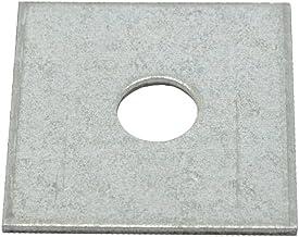 10 stuks. A2 Grade x M12 Interne Gat Diameter x 50mm Externe Zijlengte x 3mm Dikte. Vierkante plaatwasser.