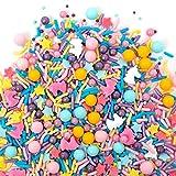 Sweets Indeed Sprinklefetti Happy Unicorn Sprinkles - Gluten-Free Pastel Sprinkle Medley for Baking...