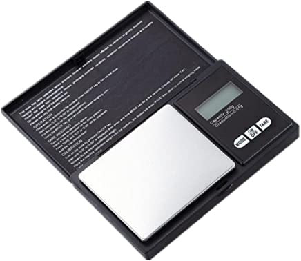 FY Home 200g x 0.01g Precision Digital Scales LCD Digital Pocket Scale Jewelry Gold Gram Balance Weight Scale (A)