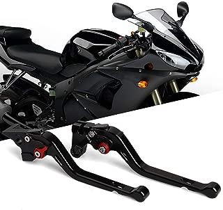 Lavmar Brake Clutch Levers Fit for Yamaha FZ6 FAZER 2004-2011,FZ6R 2009-2015,FZ8 2011-2015, MT-07/FZ-07 2014-2018,FZ-09/MT-09/SR(Not FJ-09) 2014-2017