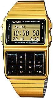 [カシオ]CASIO メンズ レディース データバンク ゴールド デジタル 男女兼用 DBC-611G-1 腕時計 [並行輸入品]