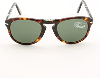 a63e300c8985c Persol PO0714 24 31 Havana Sunglasses with Grey Lenses 52mm 714 24 31 52