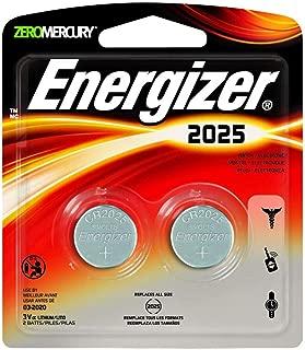 Energizer - Lithium Batteries 3.0 Volt For CR2025/DL2025/LF1/3V (2 Pack, Total 4)