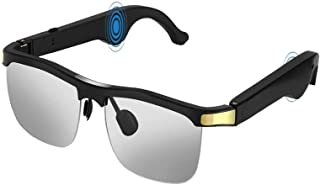 Elikliv Wireless Audio Sunglasses, Open Ear Smart Glasses with Blue Tooth 5.1, Listen Music, Hands-Free Calls, Voice Assis...