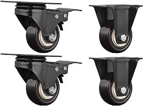 4 stks Meubelwielen Kleine Bureaustoel Swivel Stoel Castor Wielen Elektrisch Appliance Showcase Plank Directional Wheel Ve...