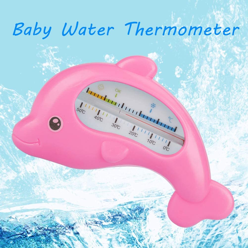 Aramox Thermom/ètre num/érique LCD pour b/éb/é Jouet de bain Pour b/éb/é Rose