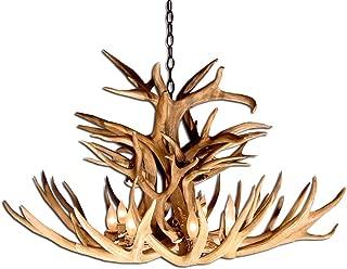 Reproduction Antler Mule Deer Royal Crown Chandelier Light Xlarge