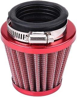 Suuonee Luftfilter, 44mm Luftfilter für Gy6 150cc ATV Quad 4 Wheeler Go Kart Buggy Roller Moped(rot)
