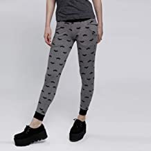 Splash Character Skinny Trousers, for Women Grey - 6292353254740