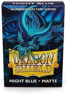 Dragon Shield Sleeves: 60ct. Japanese Size, Matte Night Blue