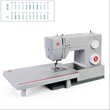Heavy-Duty Sewing Machine with 23 Built-in Stitches-12 Decorative Stitches, 60% Powerful Motor and Automatic Stitch Thread...