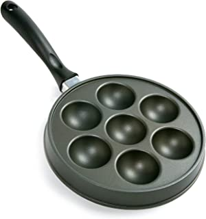 Norpro Nonstick Stuffed Pancake Pan, Munk / Aebleskiver / Ebelskiver