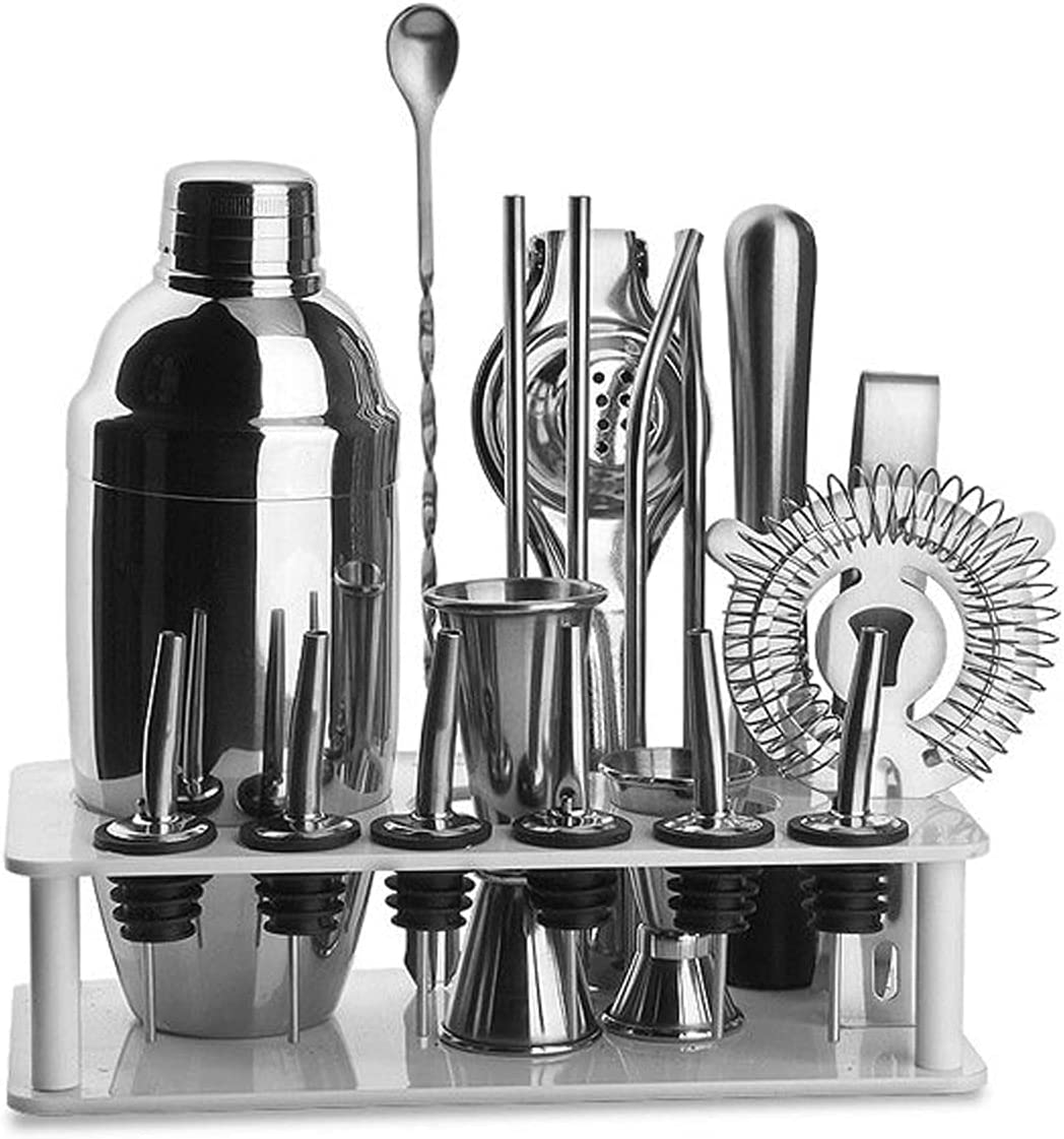 Cocktail Time sale Shakers Drink Shaker Bartender Kit Set New Free Shipping