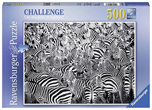 Ravensburger Italy 14807 la Sfida delle Zebre Puzzle 500 Pezzi