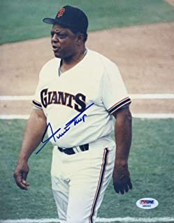 Willie Mays Signed Photo - Original Image 1 1 8x10 - PSA/DNA Certified - Autographed MLB Photos