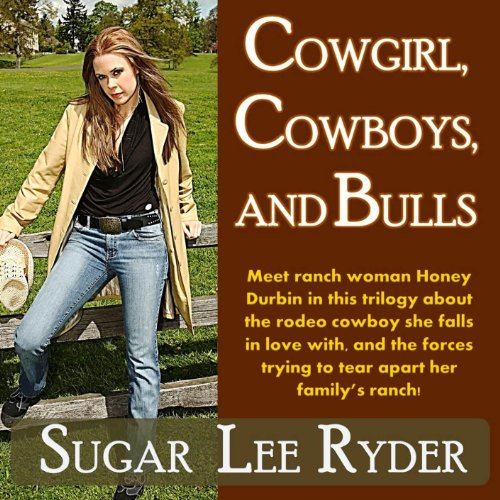 Cowgirl, Cowboys, and Bulls audiobook cover art