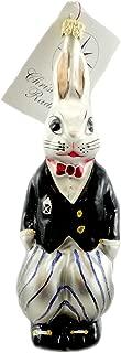 christopher radko rabbit ornament