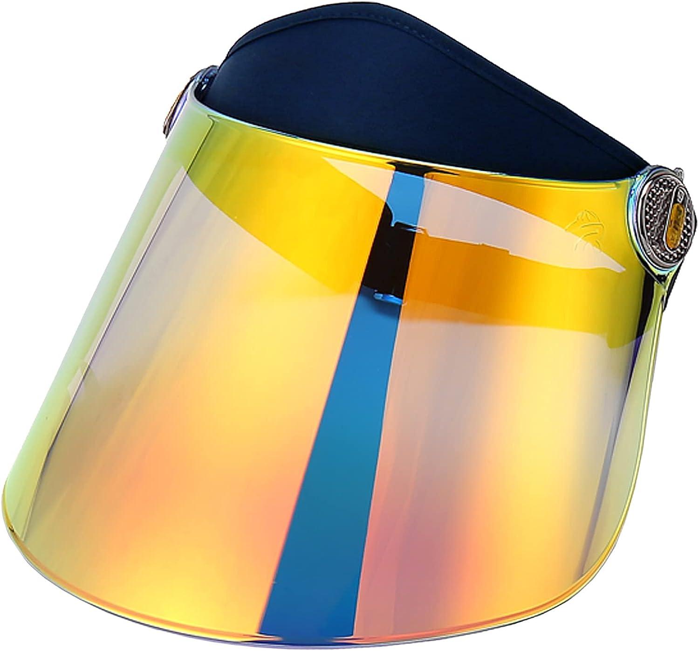 CNUV Sun Cap UV Protect Visor Adjustable UPF 50+ Hat Great for Hiking,Camping,Outdoor Sports Headband Visor