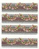 One de Stroke de pegatinas flores 1151