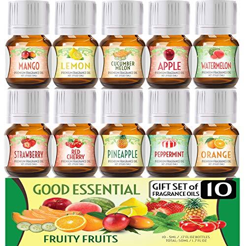 Fruity Fruits Good Essential Fragrance Oil Set