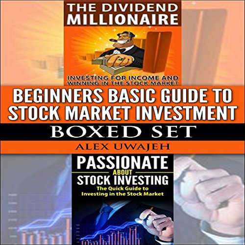 Beginners Basic Guide to Stock Market Investment Boxed Set audiobook cover art