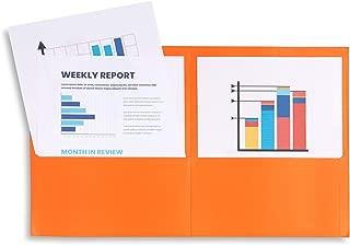 Best orange folders with prongs Reviews