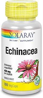 Solaray, Organically Grown Echinacea, 450 mg, 100 VegCaps
