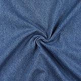 Fabulous Fabrics Jeans jeansblau, Uni, 142cm breit –