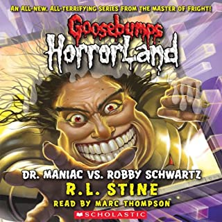 Dr. Maniac vs. Robby Schwartz audiobook cover art