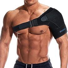 Dunamis Premium Shoulder Brace: Pain Relief & Support Brace for Men & Women| Adjustable Compression Wrap Band for Left & R...