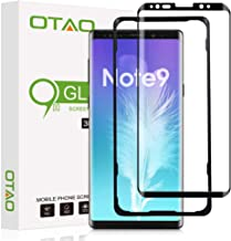 OTAO Note 9 Screen Protector Tempered Glass, 3D Curved Dot Matrix [Full Screen Coverage] [Case Friendly] Galaxy Note9 Glass Screen Protector with Installation Tray for Samsung Note 9