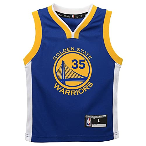 f90a87011 Kevin Durant Golden State Warriors NBA Toddler Blue Road Replica Jersey