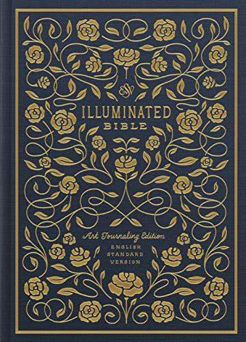 ESV Illuminated Bible, Art Journaling Edition (Cloth over Board, Navy)