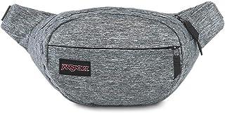JanSport Fifth Ave FX Fanny Pack - Hip Bag, Black Woven Knit