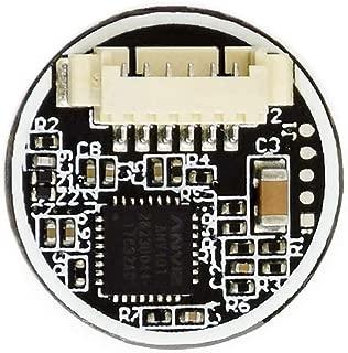 Round-Shaped All-in-one Capacitive Fingerprint Reader Sensor Recognition Module UART for Raspberry Pi/STM32,Integrated Fingerprinting Algorithm, Support 360° Omni-Directional Verification