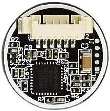 Round-Shaped All-in-one Capacitive Fingerprint Reader Sensor Recognition Module UART for Raspberry Pi/STM32,Integrated Fin...