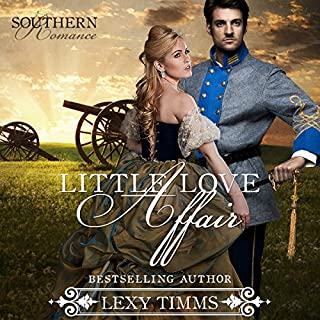 Little Love Affair: Civil War Romance audiobook cover art